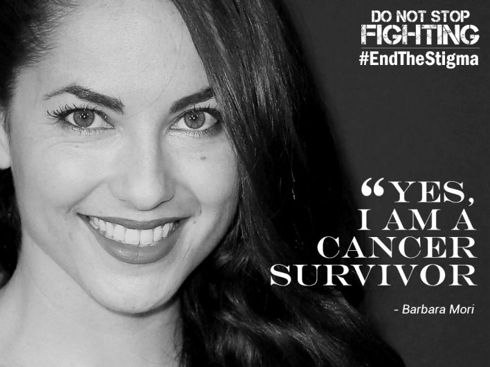 Barbara Mori - Cancer Survivor #WorldCancerDay - 2016  Fiinovation