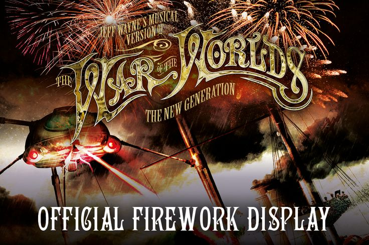 The War of the Worlds Fireworks