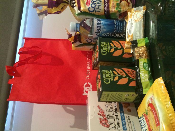 Snacks sorted thanks to @businesschicks