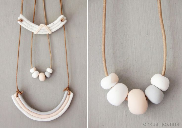 CIRKUS: DIY - jewels from Fimo molding paste