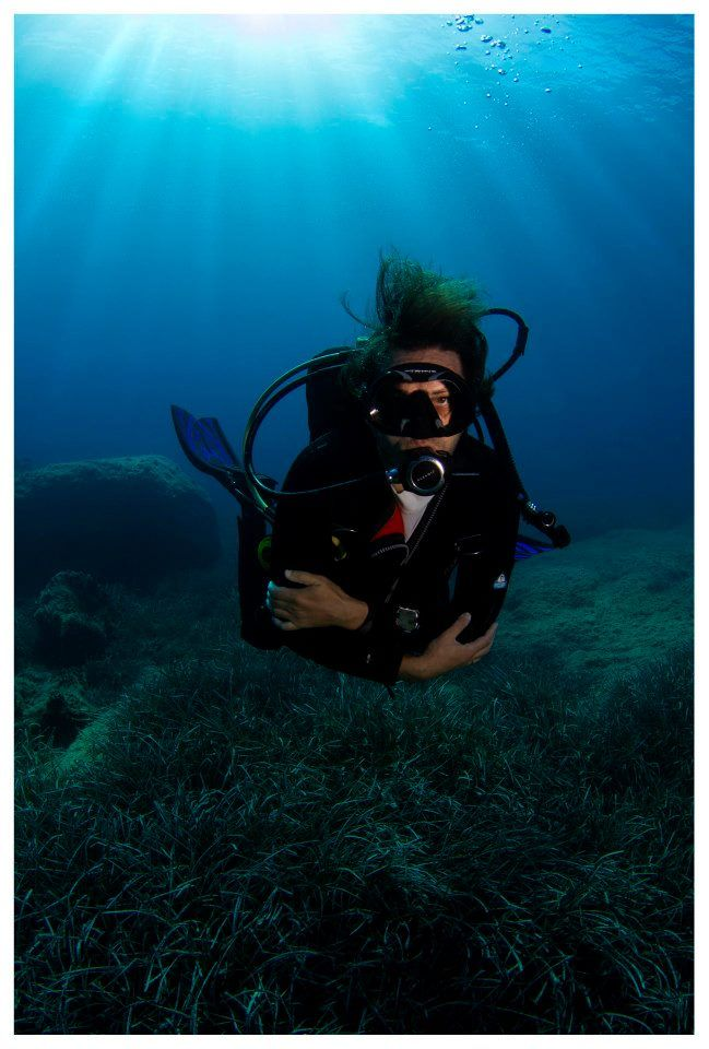 Dive in Kavouri #diving #underwater #photography #greece #scuba #shoredive #athens #kavouri