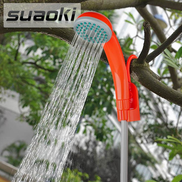 Outdoor Handheld Portable Shower With Showerhead Usb