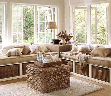 Home-Dzine - How to make a daybed or corner sofa