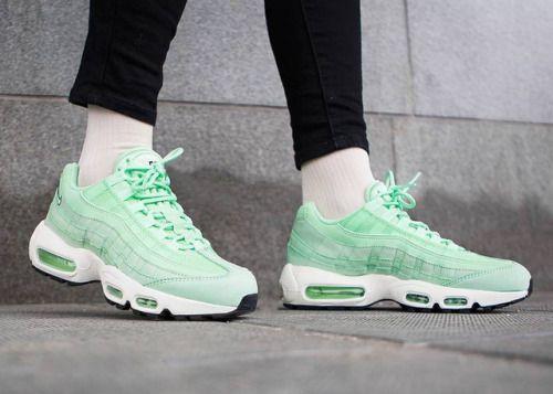 reputable site dba6b 47545 Nike Wmns Air Max 95 Fresh Mint sneakers sneakernews StreetStyle Kicks