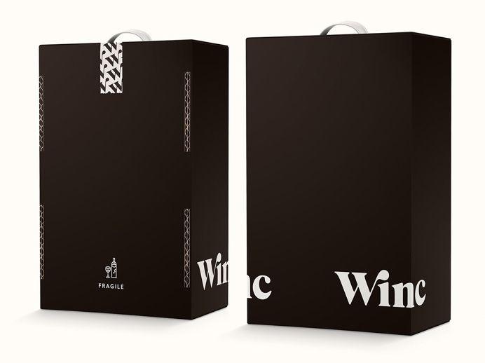 Winc #packaging #box #type #branding #product