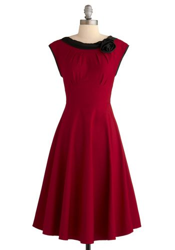 for the office xmas party / ModCloth: Christmas Party Dresses, Party'S, Christmas Dresses, Red Dresses, Gowns, Closeup Dresses, Holidays Dresses, Red I, Christmas Parties Dresses