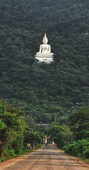 Buddha_Statue in Forest at Pak_Chong, Korat, Thailand http://en.directrooms.com/hotels/district/1-1-220-9095/