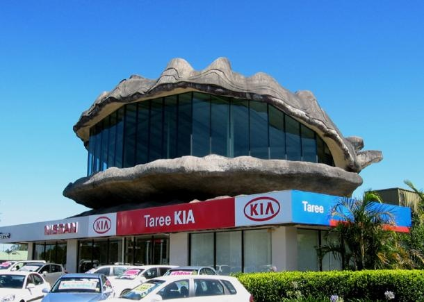The Big Oyster – Taree NSW. What it lacks in taste, it makes up in size.