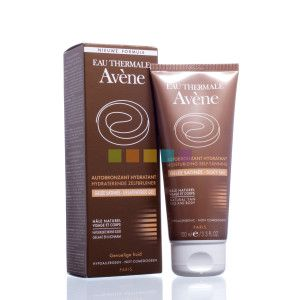 Avène Hydraterende Zelfbruiner | 100 ml  Een satijnzachte gel die de gevoelige huid een geleidelijk, stralend en natuurlijk bruin kleurtje geeft.