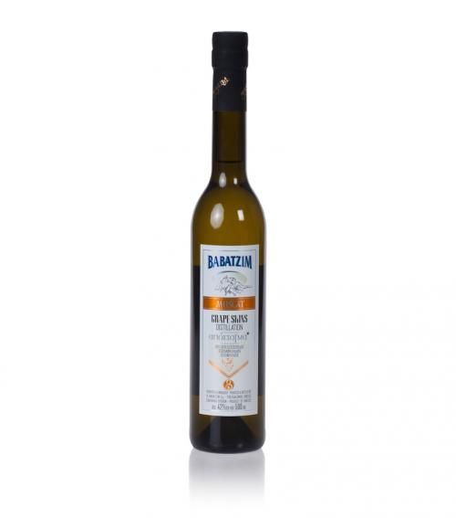 """Babatzim"" distillate of Muscat grape 500ml available at just 23.00€"