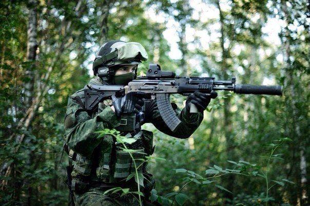 Russian Spetsnaz from GRU / SSO.