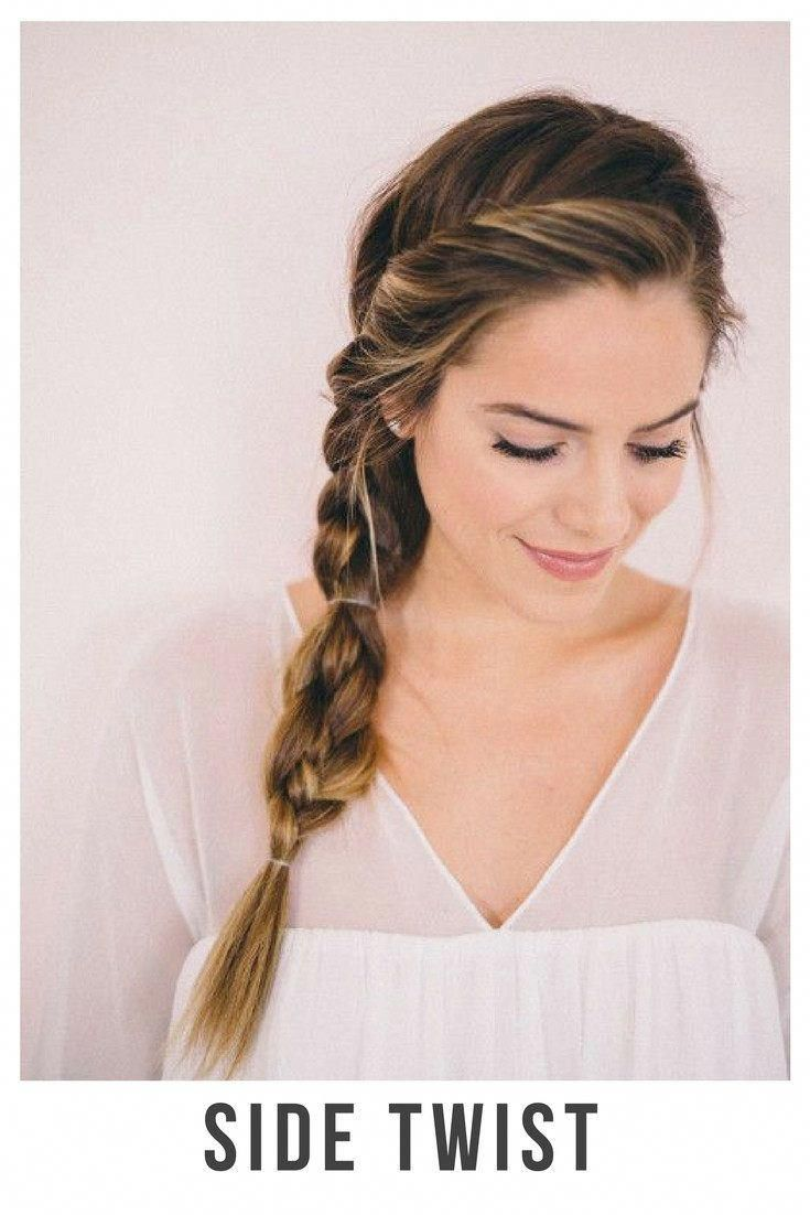 30 Incredible Hairstyles For Thin Hair Side Twist Belliabox Thinninghair Braided Hairstyles For Wedding Cute Braided Hairstyles Side Braid Hairstyles