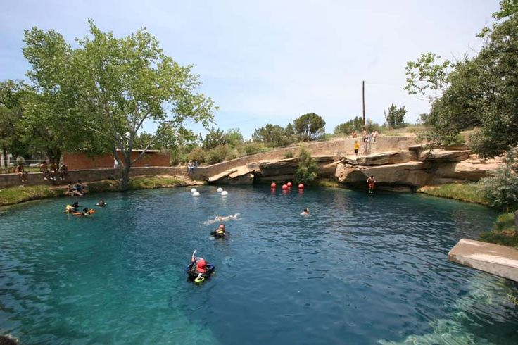 Blue Hole Swimming Hole In Santa Rosa Nm I Did My Scuba Certification Dives Here Favorite
