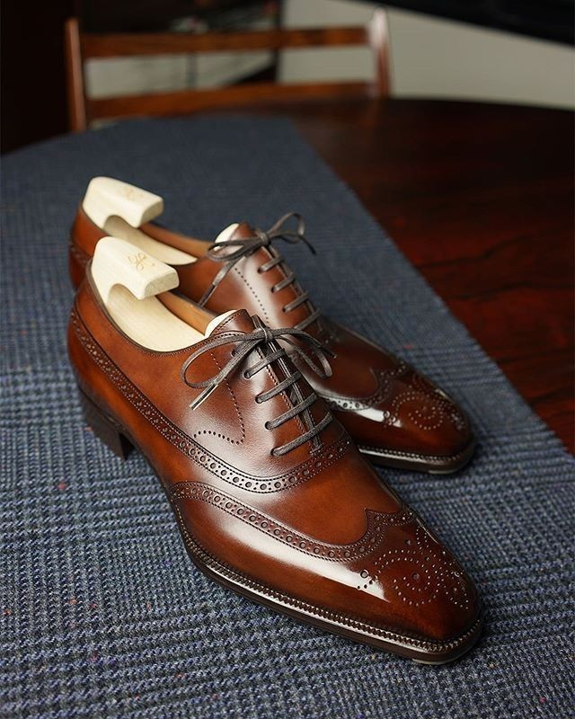 Handmade Leather Shoes for Men in 2020 | Dress shoes men