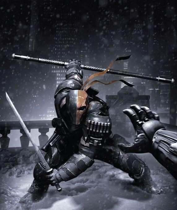Deathstroke from Batman Arkham Origins