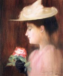 Portrait of Mrs. Pataki, Jozsef Rippl-Ronai