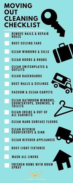 about moving out checklist on pinterest apartment moving checklist