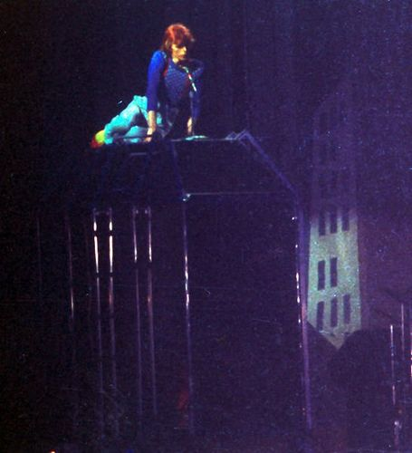 David Bowie - Diamond Dogs Tour 1974 | Flickr - Photo Sharing!