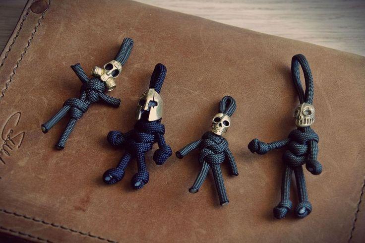 Paracord Voodoo Dolls