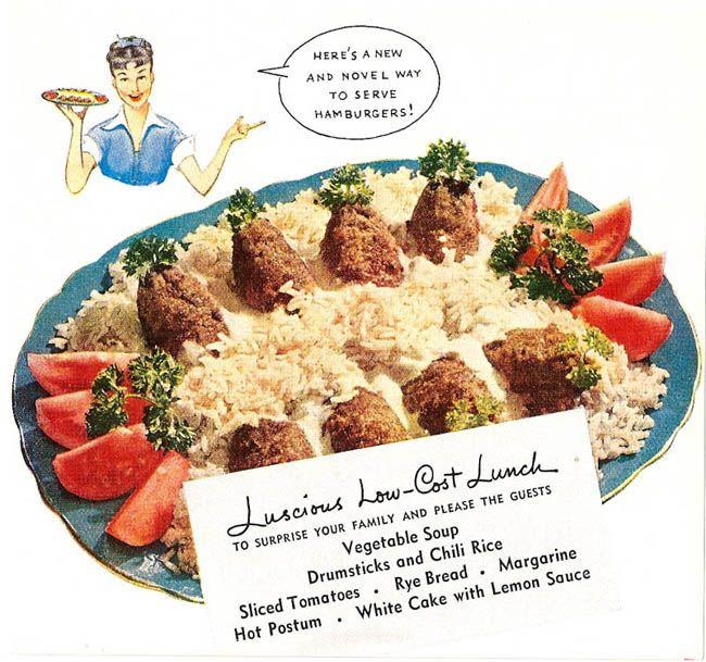 """""""Inasmuch as they're not hamburgers at all, yes, it's quite novel.  It's like the Easter Island of hamburger dishes."""""""