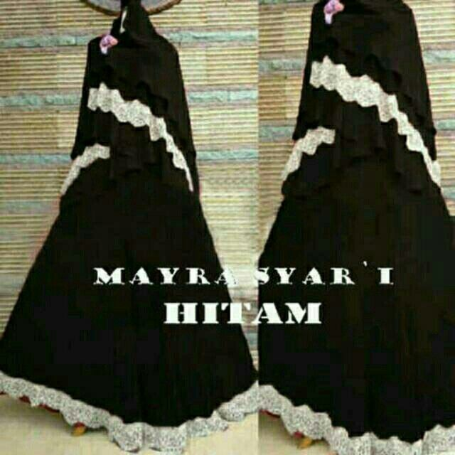 Saya menjual Mayra syari black seharga Rp155.000. Dapatkan produk ini hanya di Shopee! http://shopee.co.id/alunashop/4072618 #ShopeeID