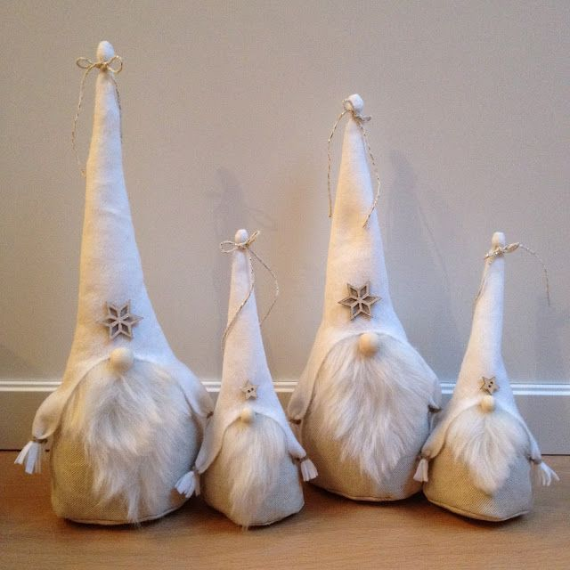 Au fil de l'R: Gnomes de Noël blancs ★️