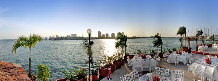 Restaurante Club de Pesca - Cartagena de Indias