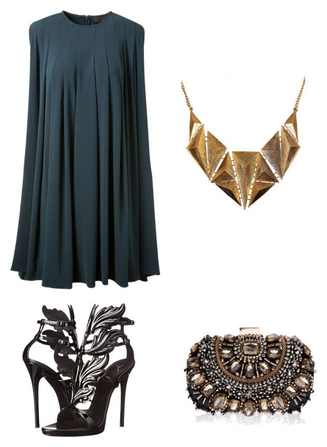 """Night Out"" by britscarike on Polyvore featuring Giuseppe Zanotti, Lipsy and Ruby Rocks"
