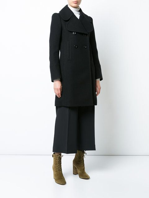 Chloé double breasted peacoat