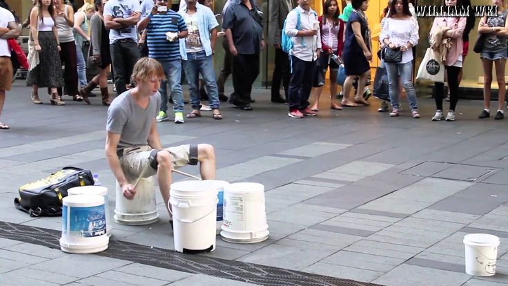 Best Street Drummer Ever [HD]