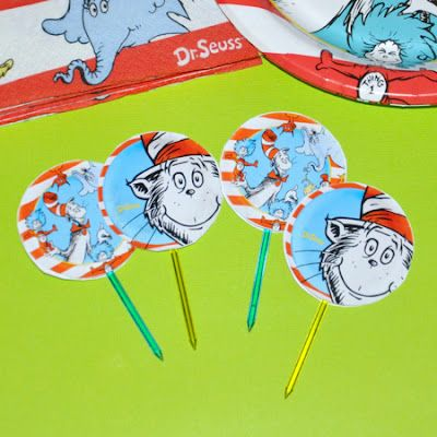 DIY Cupcake Toppers / Party Picks