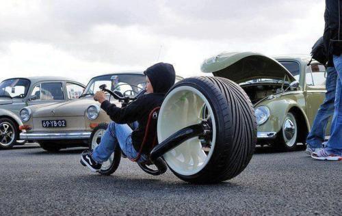 Now that is a big wheel!Bicycles, Sports Cars, Big Wheels, Luxury Cars, Big Boys, Growing Up, Custom Bikes, Little Boys, Rats Bikes