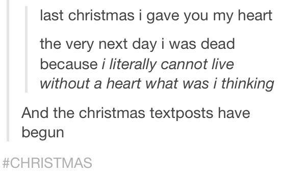 Funny Christmas Text Posts
