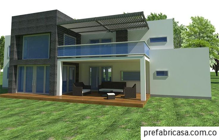 17 mejores ideas sobre modelos casas prefabricadas en - Casas cubo prefabricadas ...