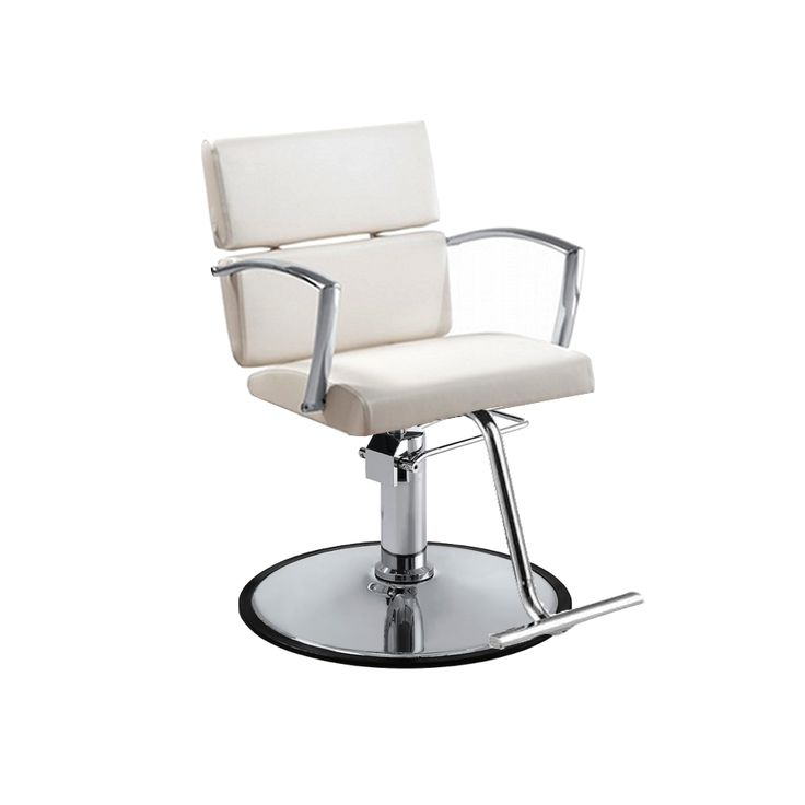 Charlotte White Salon Chair - Standish Salon Goods