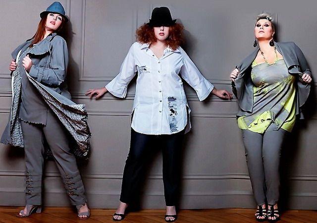 Какая одежда подходит для полных девушек и женщин: советы - как выбрать