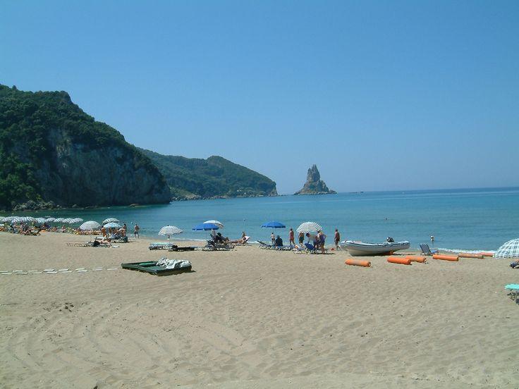 Agios Georgios beach #Corfu, #Pagi
