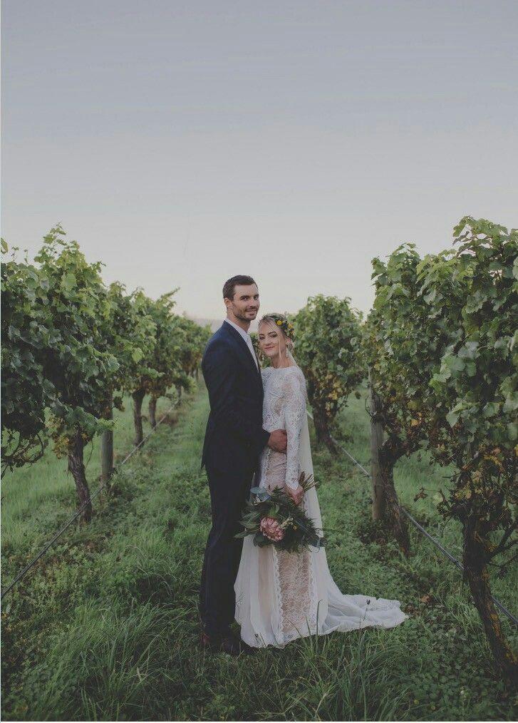 REAL BRIDE// Sara and Dan xx Dress @graceloveslace.au  Hair @locohairnz  MU @envie_makeupartist  Flowers @zinniafloraldesign  Photographer @photosbykirstensimcox  Location @te_awa_winery   #hawkesbay #hawkesbaywedding #happyeverafter #bride #weddingblogger #weddingday #instabride #weddingnz #nzbride#bridalhair #hairup #flowers#flowercrown #graceloveslace #nzhairdresser#bohobride #bohostyle
