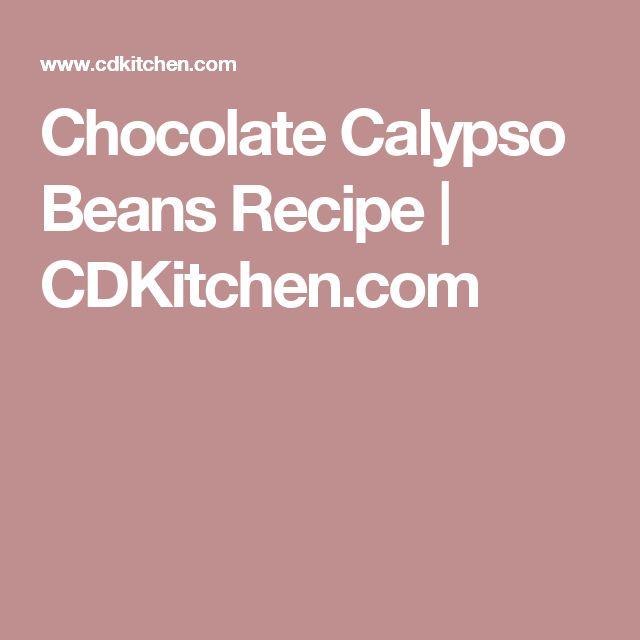 Chocolate Calypso Beans Recipe | CDKitchen.com