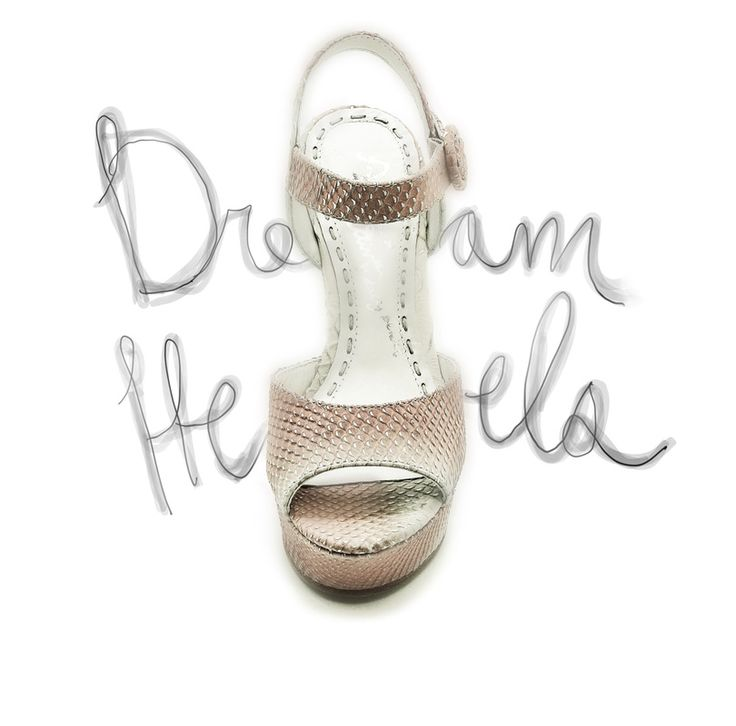 Perfect bridal wedges for the summer garden wedding. Power to the petite brides out there. These were not easy to find - by Alice and Olivia