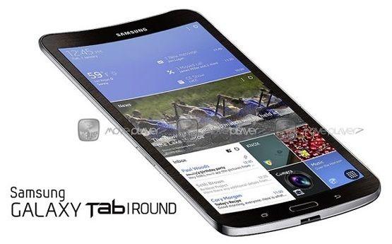 #Samsung готовит изогнутый планшет #Galaxy Tab Round