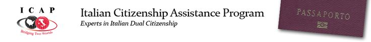 Italian Citizenship Assistance Program | http://icapbridging2worlds.com/