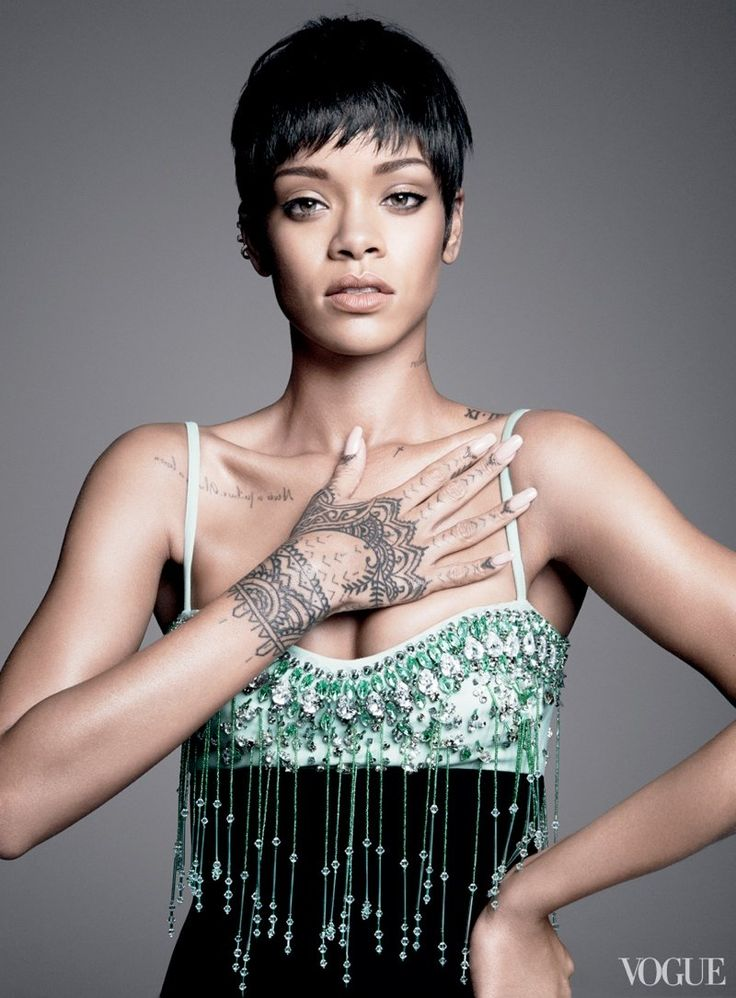 Rihanna landed the coveted cover of Vogue's March issue, dispensing fashion and beauty advice to writer, Plum Sykes, in the accompanying profile piece.