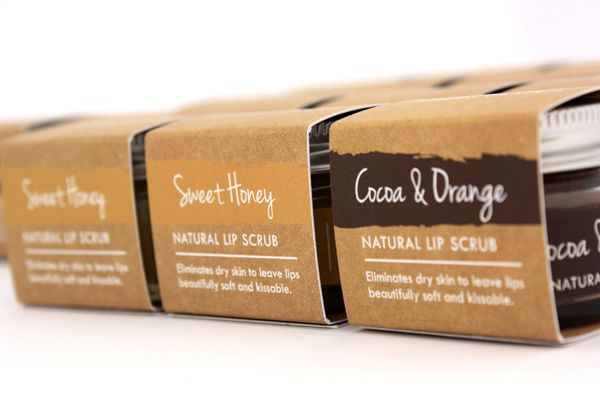 Natural Lip Scrub by Pure Thoughts - tackles dry flaky lips in seconds! (£6.95)