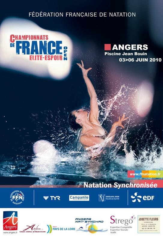 Les championnats d'Angers Nat Synchro.