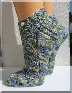 """Drachenherz"" (Socken)"