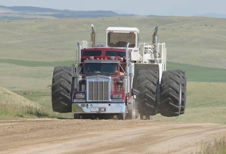 Big Bud Tractor : Big bud hauling heavy equipment pinterest