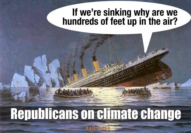 20 Cartoons and Memes That Put Climate Change in Perspective: Republicans on Climate Change