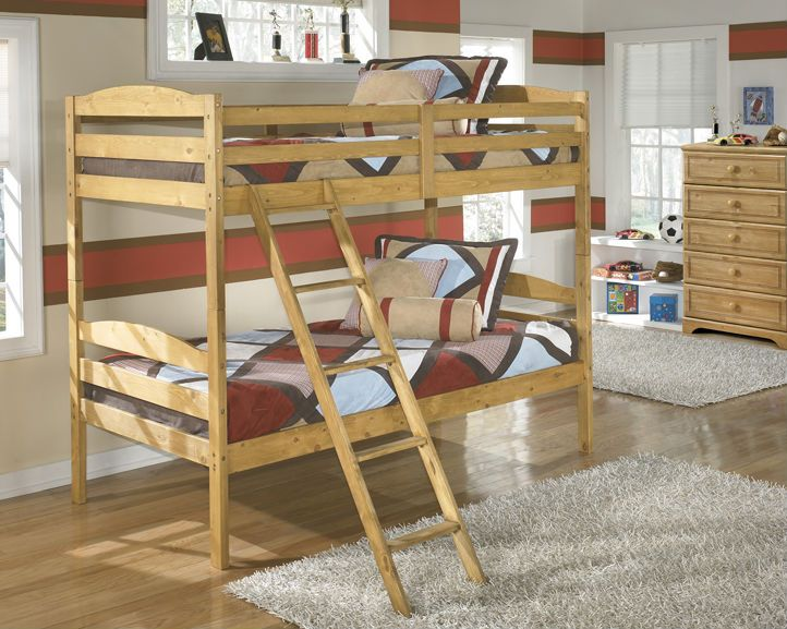 YOUTH #BEDROOMS-- Broffin  B505 Price includes Twin/Twin Bunkbed. Bunkies are available. Other pieces available.... http://bit.ly/1FJ6IfW