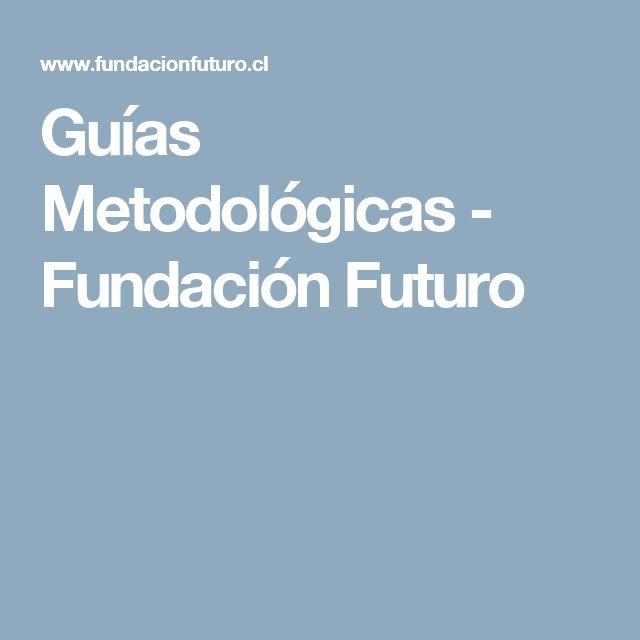 Guías Metodológicas - Fundación Futuro